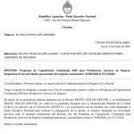 Circular IF-2020-45534994| Nuevas disposiciones de la SSN