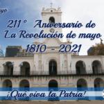 25 de mayo | 211° Aniversario de la Revolución de mayo
